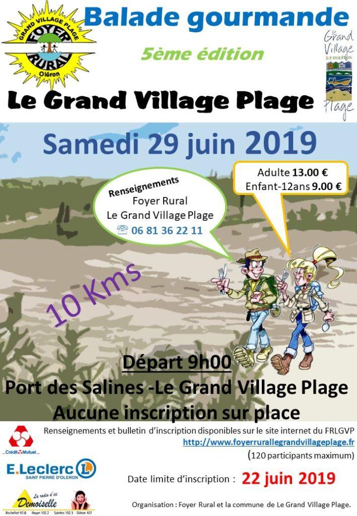 balade gourmande grd village 29-9-19