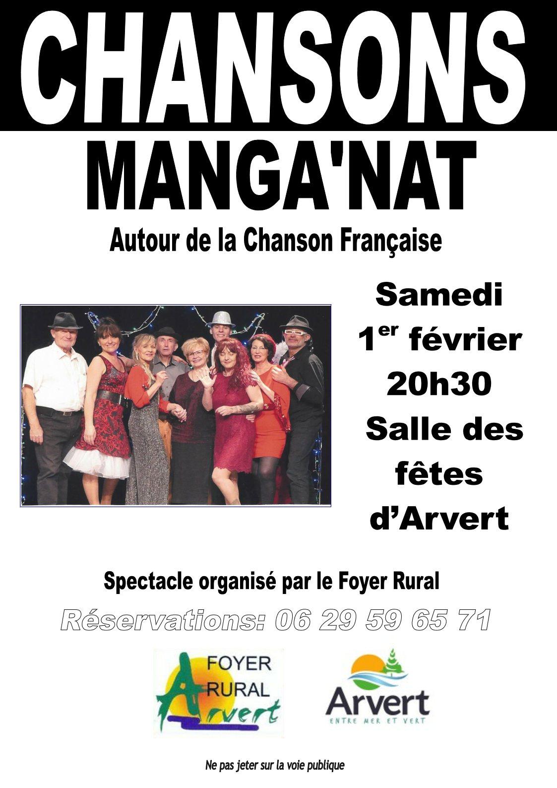 arvert chansons françaises 2020